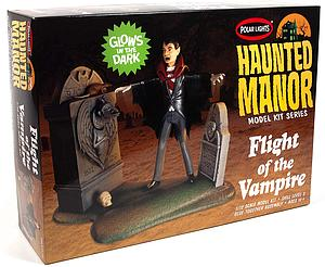 Haunted Manor 1/12 Scale Model Kit: Flight of the Vampire (POL977)