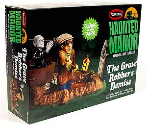Haunted Manor 1/12 Scale Model Kit: The Grave Robber's Demise (POL976)