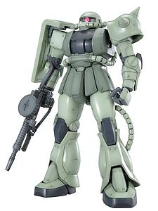 Gundam Master Grade 1/100 Scale Model Kit: MS-06J Zaku II Ver. 2.0