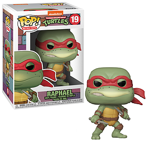 Pop! Retro Toys Teenage Mutant Ninja Turtles Vinyl Figure Raphael #19