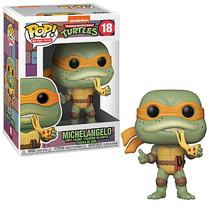 Pop! Retro Toys Teenage Mutant Ninja Turtles Vinyl Figure Michelangelo #18