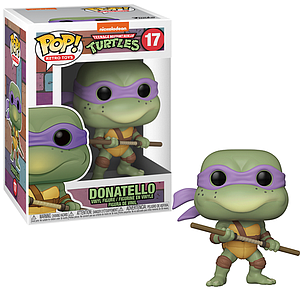 Pop! Retro Toys Teenage Mutant Ninja Turtles Vinyl Figure Donatello #17