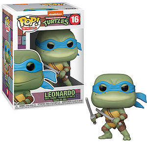 Pop! Retro Toys Teenage Mutant Ninja Turtles Vinyl Figure Leonardo #16
