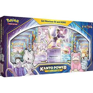 Pokemon Trading Card Game: Kanto Power Collection - Mewtwo-EX and Slowbro-EX