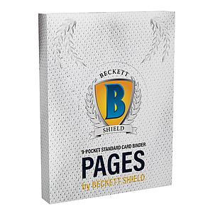 Beckett Shield 9-Pocket Standard Card Binder Pages