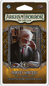 Arkham Horror: The Card Game - Harvey Walters: Seeker Investigator Starter Deck (French)