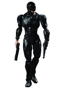 "Play Arts Kai Robocop (2013) 8"": Robocop Version 3.0 (Black)"