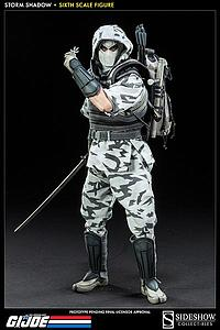 "Sideshow Collectibles G.I Joe 12"" Premium Figure: Storm Shadow (Winter Camouflage)"