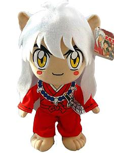 Inuyasha Plush Inuyasha White Hair (12 Inch)