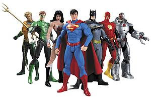 DC Collectibles The New 52 7-Packs: Justice League