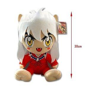"Plush Toy Inuyasha 12"" Sitting Inuyasha"