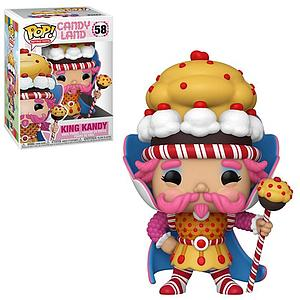 Pop! Retro Toys Candyland Vinyl Figure King Kandy