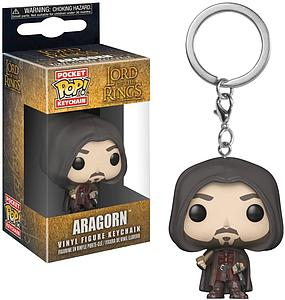 Pop! Pocket Keychain Lord of the Rings Vinyl Figure Aragon
