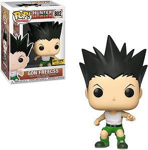 Pop! Animation Hunter x Hunter Vinyl Figure Gon Freecss #802 Hot Topic Exclusive