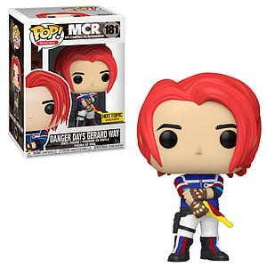 Pop! Rocks MCR (My Chemical Romance) Vinyl Figure Danger Days Gerard Way #181 Hot Topic Exclusive