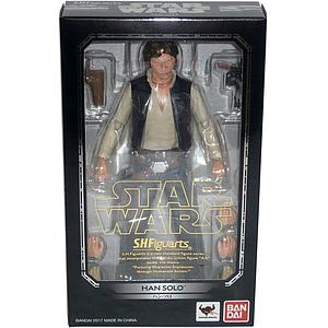 "BANDAI S.H. Figuarts Star Wars 6"" Action Figure Han Solo"