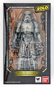 "BANDAI S.H. Figuarts Star Wars Solo 6"" Action Figure Mimban Stormtrooper"