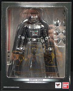 "BANDAI S.H. Figuarts Star Wars A New Hope 7"" Action Figure Darth Vader"