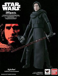 "BANDAI S.H. Figuarts Star Wars The Force Awakens 6"" Action Figure Kylo Ren Limited Edition"