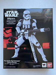 "BANDAI S.H. Figuarts Star Wars The Force Awakens 6"" Action Figure First Order Stormtrooper Heavy Gunner Limited Edition"
