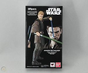 "BANDAI S.H. Figuarts Star Wars 6"" Action Figure Anakin Skywalker Limited Edition"