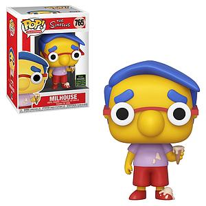 Pop! Television The Simpsons Vinyl Figure Milhouse #765 2020 Spring Convention Exclusive