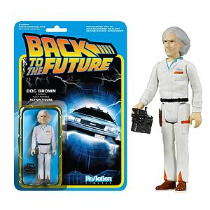 ReAction Figures Back to the Future Series Doc Brown