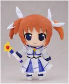 "Plush Toy Magical Girl Lyrical Nanoha 12"" Nanoha"