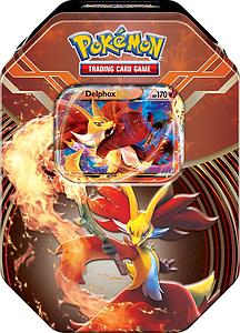 Pokemon XY Legends of Kalos Power Starter Tins Summer 2014: Delphox EX