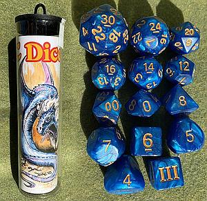 Dungeon Crawl Classics: Maned Wyrm Dice Set