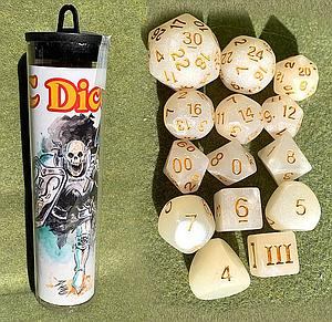 Dungeon Crawl Classics: Skeleton-Saint Dice Set