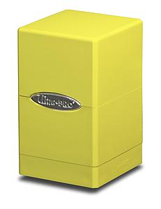 Deck Box Satin Tower: Bright Yellow