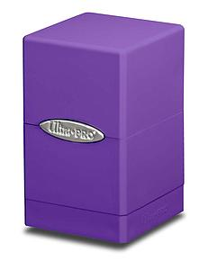 Deck Box Satin Tower: Purple