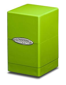Deck Box Satin Tower: Lime Green