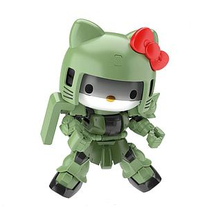 Gundam SD Gundam Cross Silhouette Model Kit: Hello Kitty/Zaku II (SD Gundam Cross Silhouette)