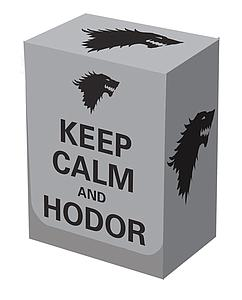 Deck Box Keep Calm and Hodor