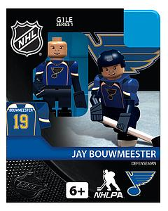 NHL Hockey Minifigures: Jay Bouwmeester (St-Louis Blues)