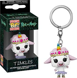 Pop! Pocket Keychain Rick and Morty Vinyl Figure Tinkles