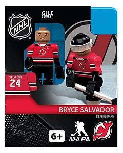 Hockey Minifigures: Bryce Salvador (New Jersey Devils)