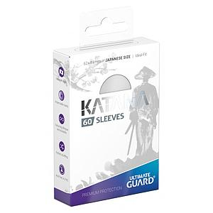 Katana Sleeves Japanese Size White (62mm x 89mm)