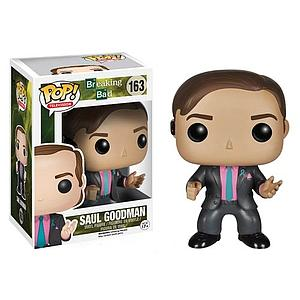 Pop! Television Breaking Bad Vinyl Figure Saul Goodman #163 (Retired)