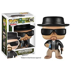 Pop! Television Breaking Bad Vinyl Figure Heisenberg #162 (Retired)
