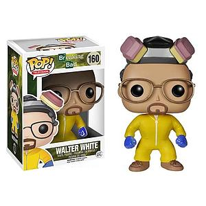 Pop! Television Breaking Bad Vinyl Figure Walter White Cook-Suit #160 (Retired)
