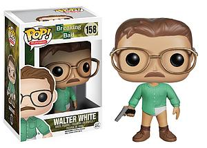 Pop! Television Breaking Bad Vinyl Figure Walter White #158 (Retired)