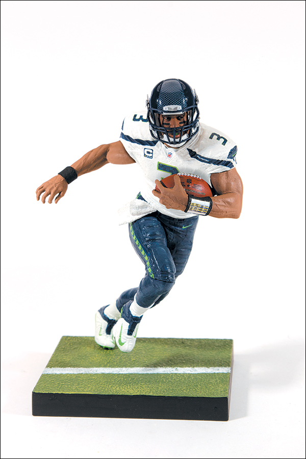 competitive price df0db 233aa NFL Sportspicks Series 35 Russell Wilson White Jersey (Seattle Seahawks)