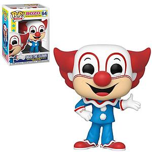 Pop! Icons Vinyl Bozo Figure Bozo the Clown #64