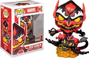 Pop! Marvel Vinyl Bobble-Head Red Goblin #682 2020 Fall Convention Exclusive