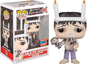 Pop! Animation Cunchyroll Junji Ito Collection Vinyl Figure Junji Ito Souichi #855 2020 Fall Convention Exclusive