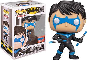 Pop! Heroes Batman Vinyl Figure Nightwing #364 2020 Fall Convention Exclusive