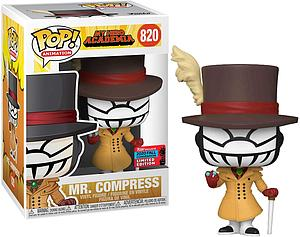 Pop! Animation My Hero Academia Vinyl Figure Mr. Compress #820 2020 Fall Convention Exclusive